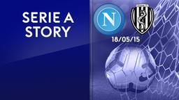 Napoli - Cesena 18/05/15. 36a g.