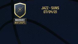 Jazz - Suns 07/04/21