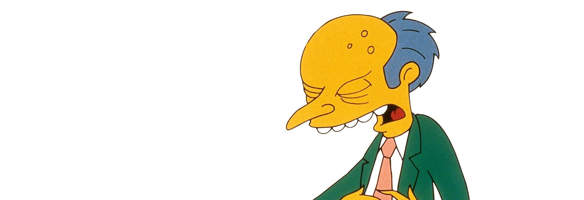 """Bacheca della serie """"I Simpson"""""""