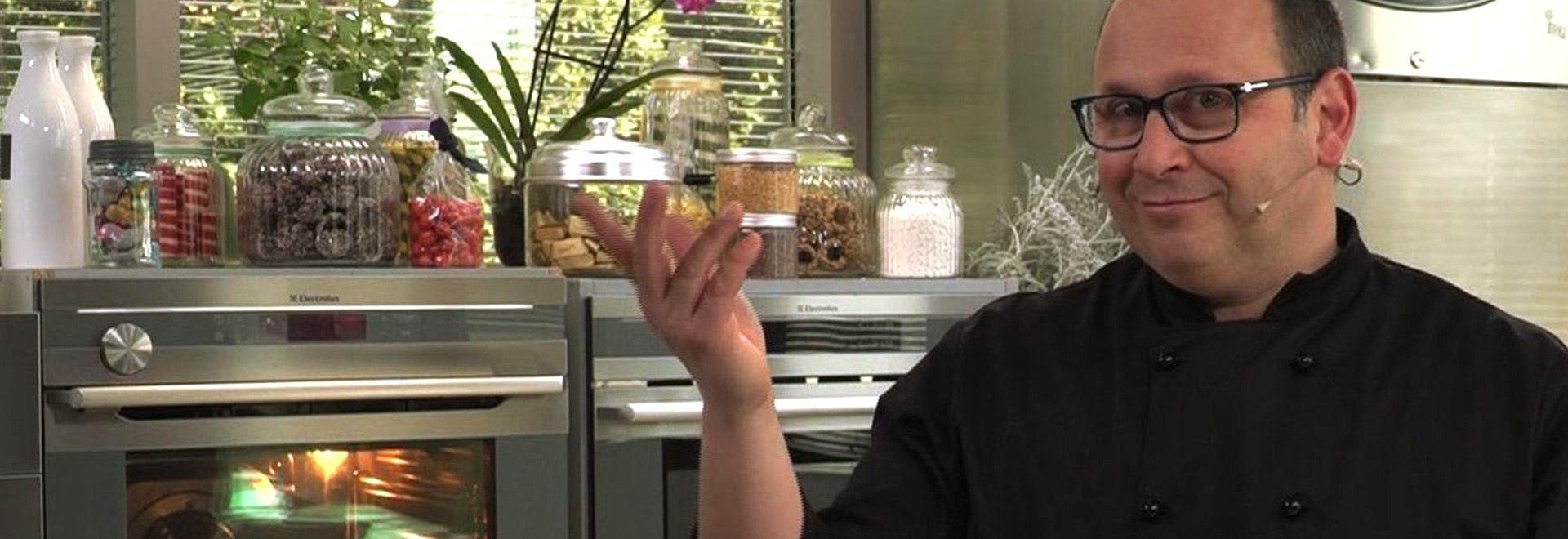 Roberto Cantolaqua: Crostata con mousse al cocco
