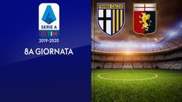 Parma - Genoa. 8a g.