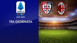 Cagliari - Milan. 19a g.