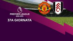 Manchester United - Fulham. 37a g.