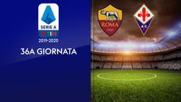 Roma - Fiorentina. 36a g.
