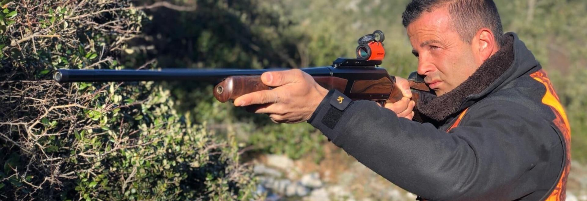 Allenamento per il tiro con la canna liscia