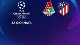 Lokomotiv Mosca - Atletico Madrid. 3a g.