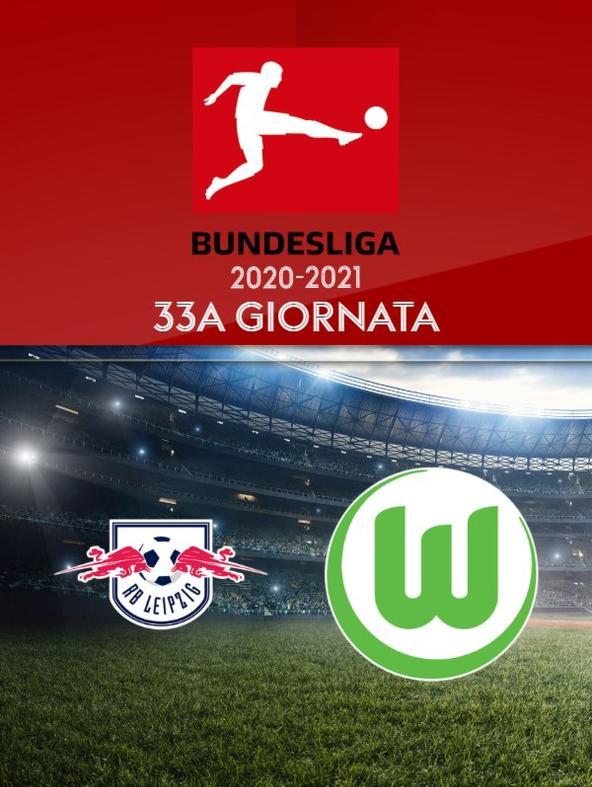 Lipsia - Wolfsburg. 33a g.