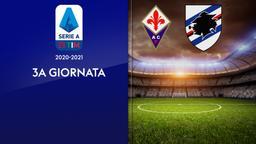 Fiorentina - Sampdoria. 3a g.