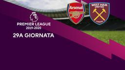 Arsenal - West Ham United. 29a g.