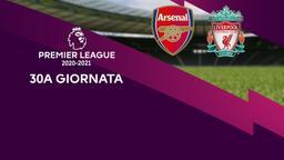 Arsenal - Liverpool. 30a g.