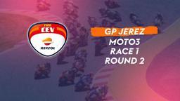 GP Jerez Round 2: Moto3. Race 1