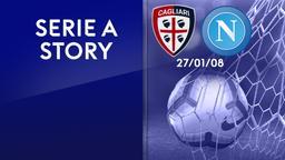 Cagliari - Napoli 27/01/08. 20a g.
