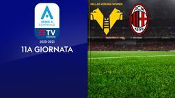 Verona - Milan. 11a g. 11a g.