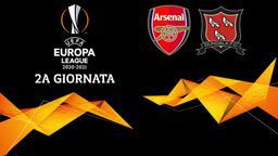 Arsenal - Dundalk. 2a g.