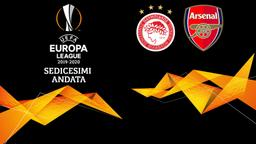Olympiacos - Arsenal. Sedicesimi Andata