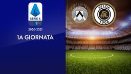 Udinese - Spezia. 1a g.