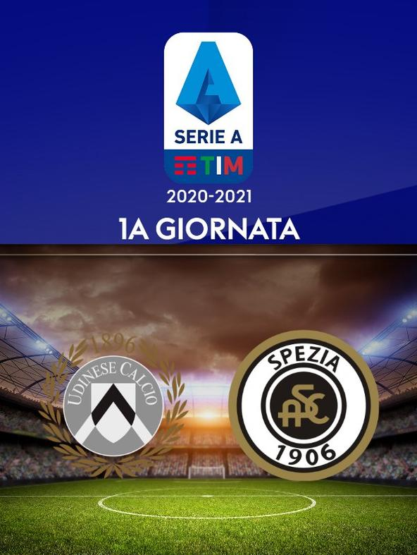 Udinese - Spezia. 1a g.