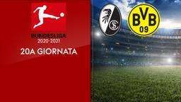Friburgo - Borussia Dortmund