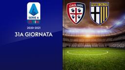 Cagliari - Parma. 31a g.