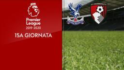 Crystal Palace - Bournemouth. 15a g.