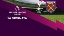 Tottenham - West Ham United. 5a g.
