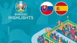 Slovacchia - Spagna. 3a g. Gruppo E