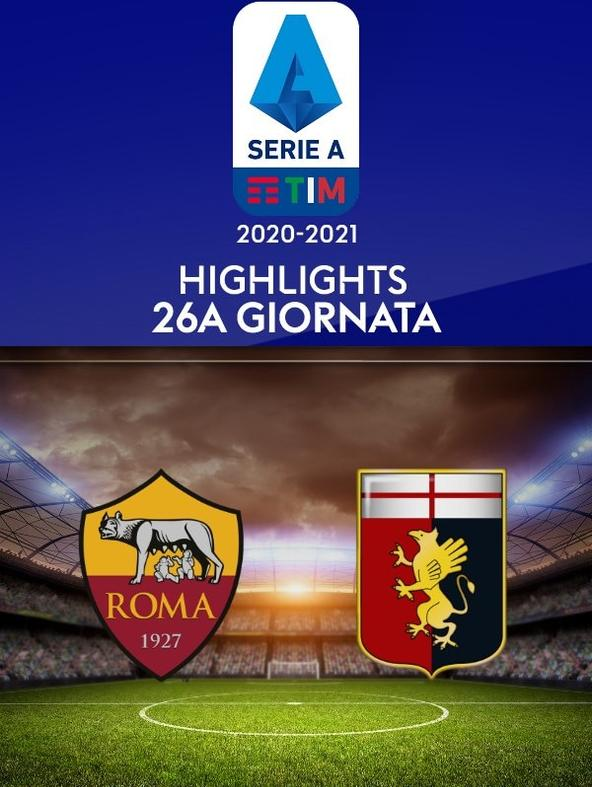 Highlights Serie A: Roma - Genoa. 26a g.