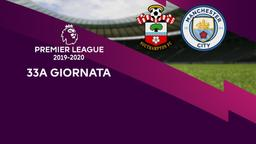 Southampton - Man City. 33a g.