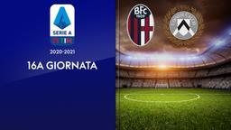 Bologna - Udinese. 16a g.