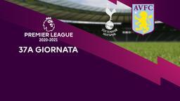 Tottenham - Aston Villa. 37a g.