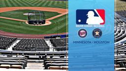 Minnesota - Houston. Al Wild Card Series. Game 1
