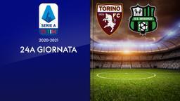 Torino - Sassuolo. 24a g.