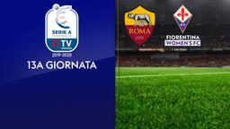 Roma - Fiorentina. 13a g.