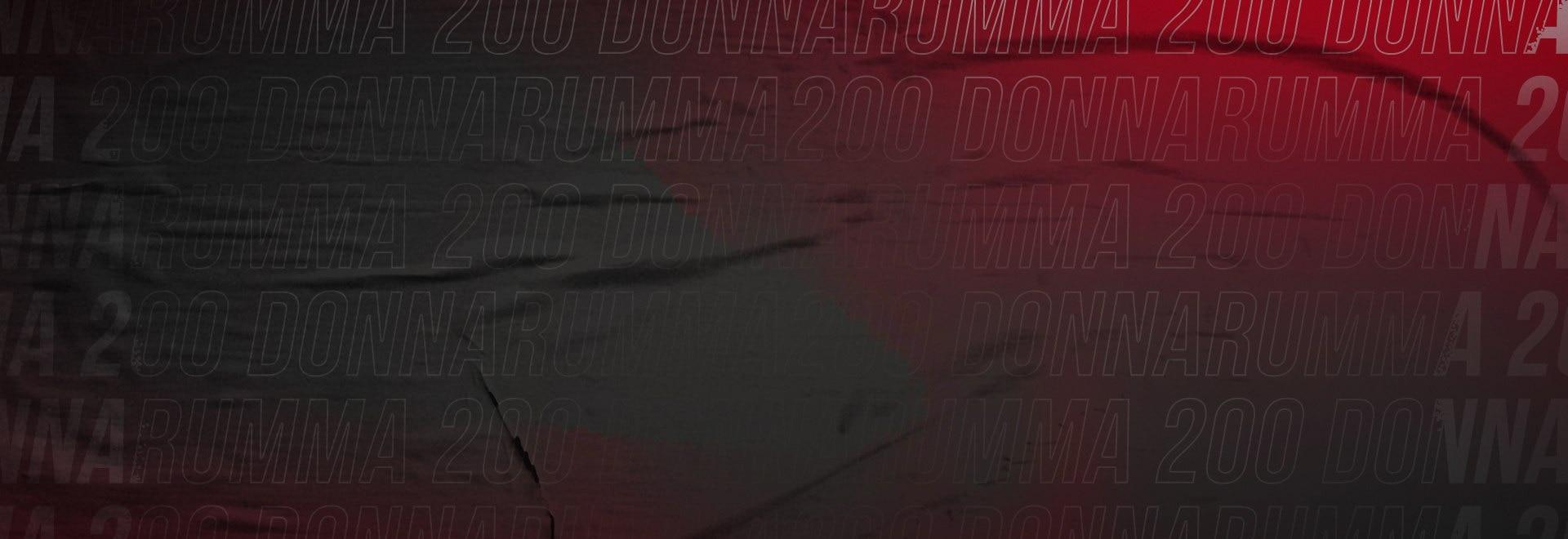 Donnarumma 200 in rossonero