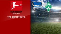 Hertha B. - Werder Brema. 17a g.