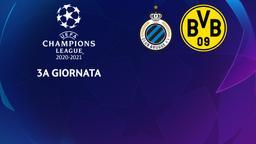 Club Brugge - Borussia Dortmund. 3a g.