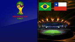 Brasile - Cile. Ottavi di finale