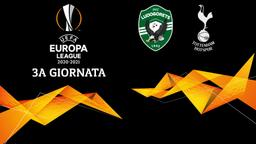 Ludogorets - Tottenham. 3a g.