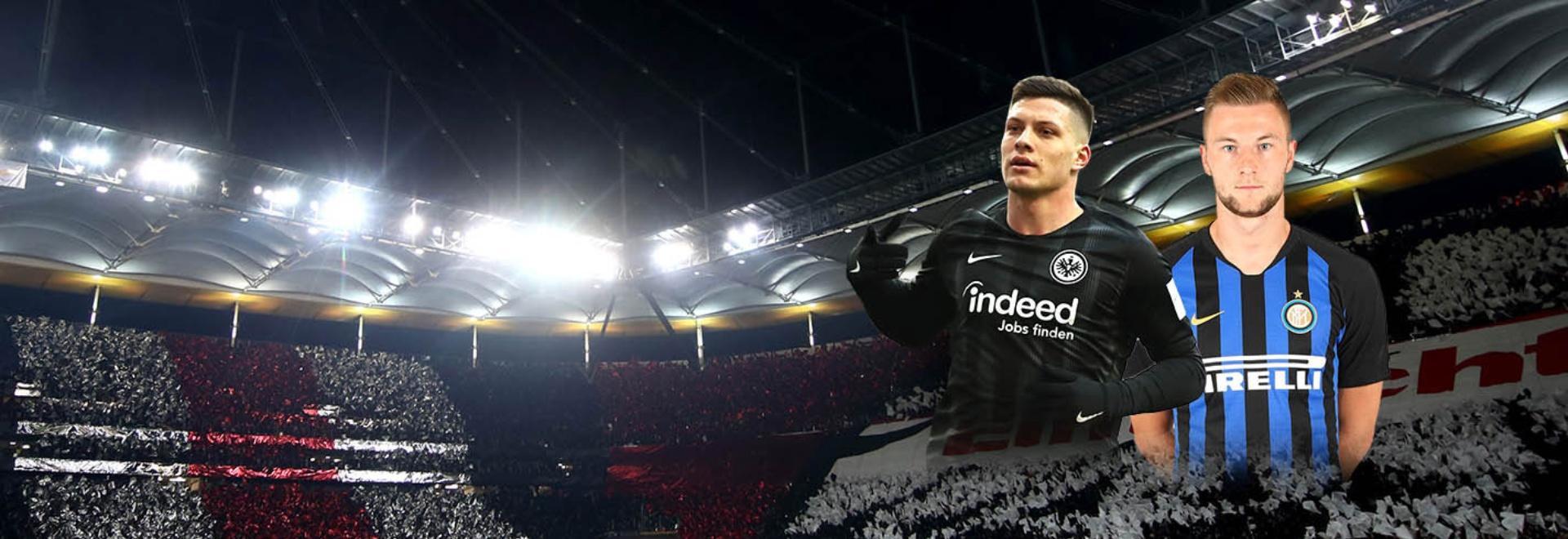 Eintracht F. - Inter. Ottavi. Andata