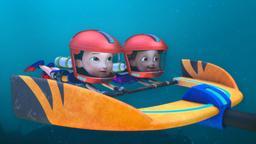 Rusty e l'avventura galleggiante / Rusty e le rane appiccicose