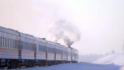 Siberia, l'ospedale sulle rotaie