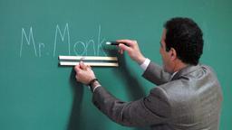 Il sig. Monk torna a scuola