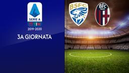 Brescia - Bologna. 3a g.