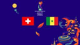 Svizzera - Senegal. Finale 1°- 2°posto