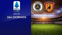Spezia - Benevento. 26a g.