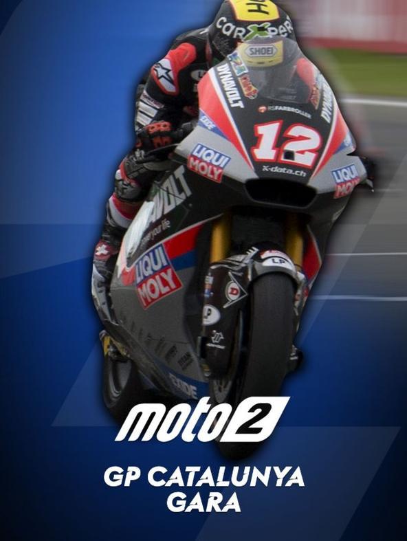 Moto2 Gara: GP Catalunya