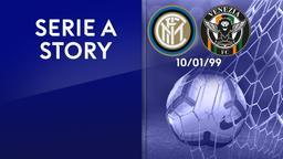 Inter - Venezia 10/01/99. 16a g.
