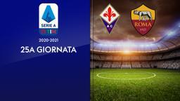 Fiorentina - Roma. 25a g.