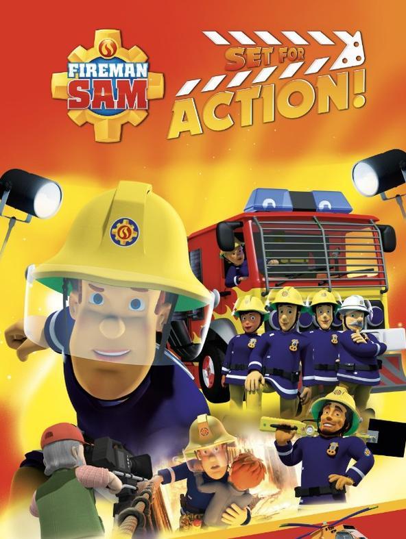 Sam il Pompiere: Ciak azione