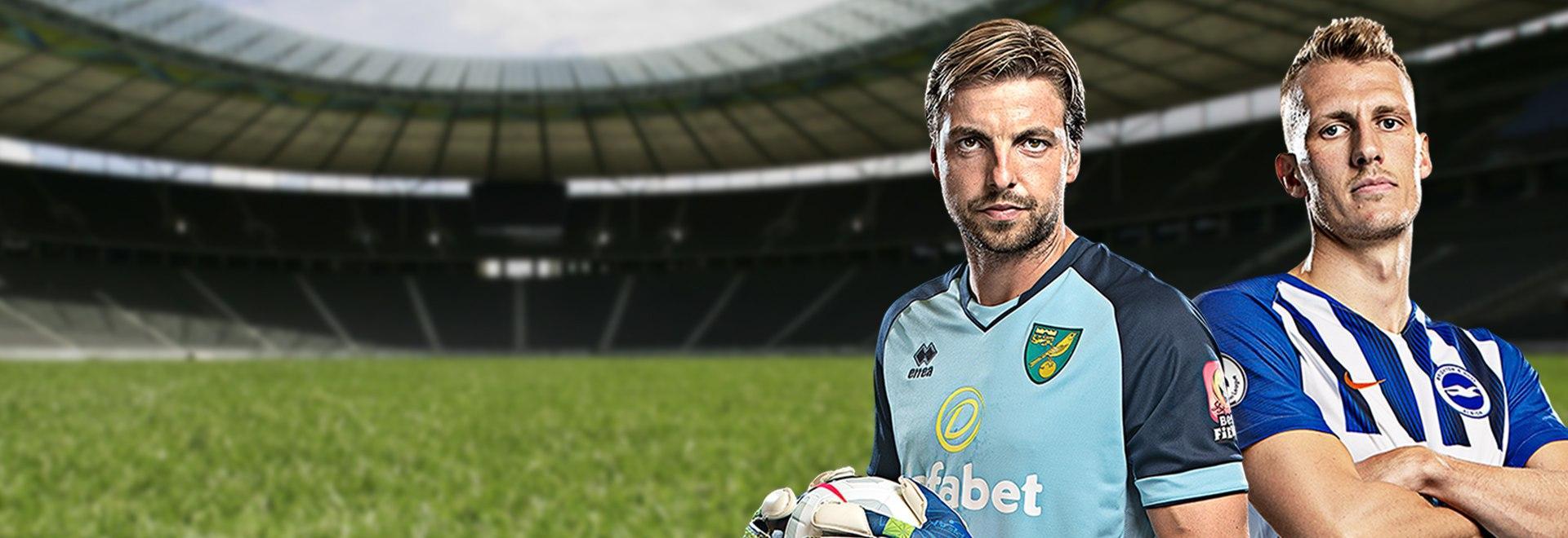 Norwich City - Brighton & Hove Albion. 33a g.
